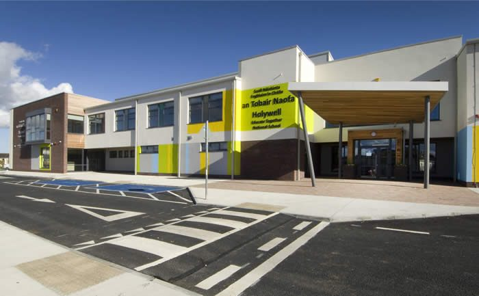 holywell educat together national school oppermann architecture construction design fitout school swords