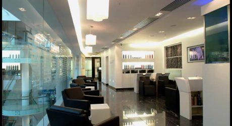 hair salon interior fitout redesign architect dundrum oppermann