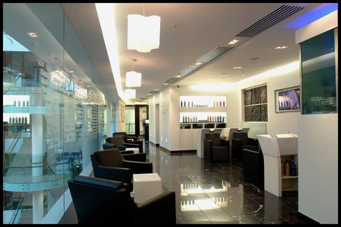 hair salon interior fitout redesign architect dundrum oppermann