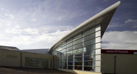 architecture design interior design fitout shopping centre limerick oppermann