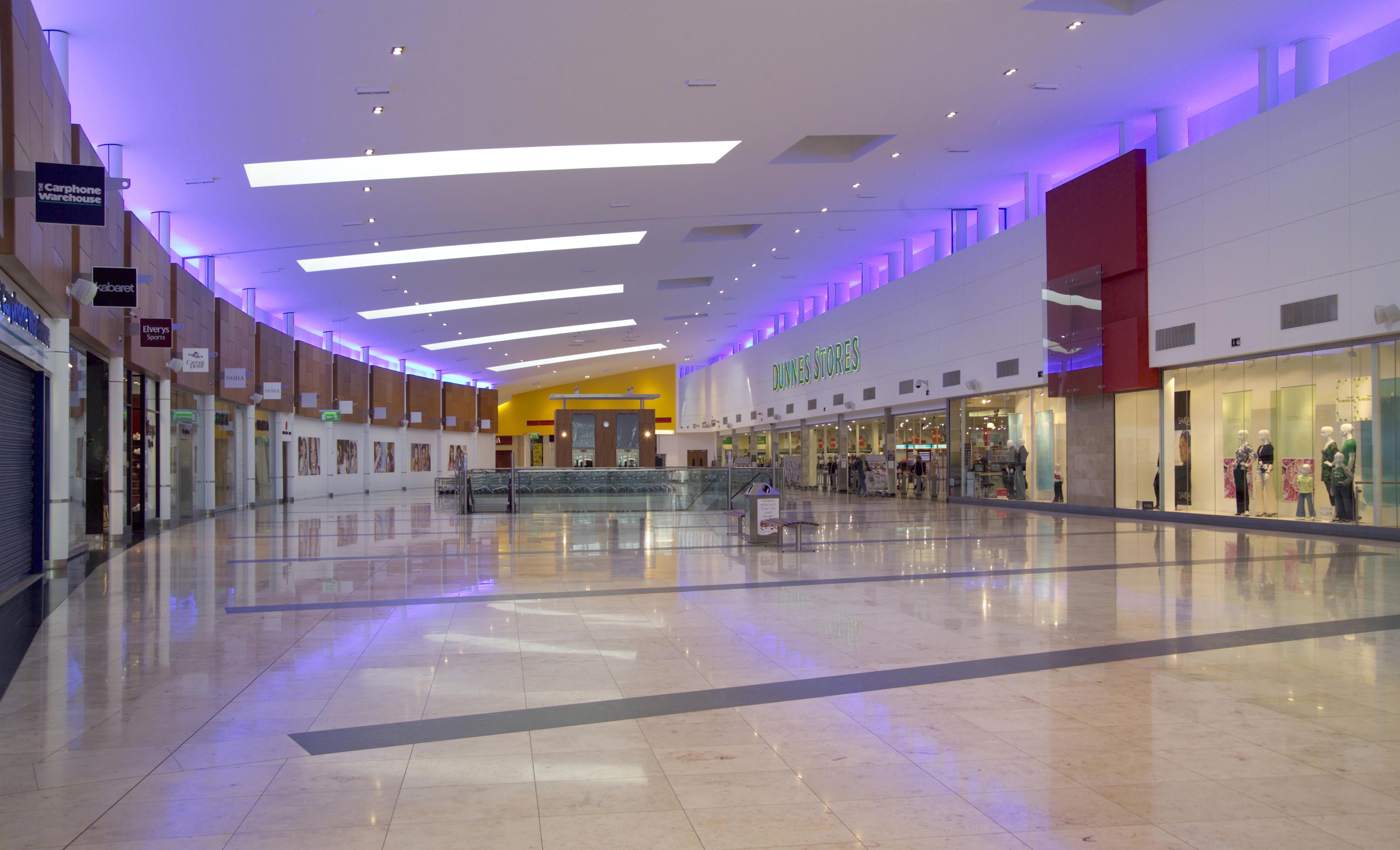 Jetland shopping centre caherdavin oppermann for Interior design shopping