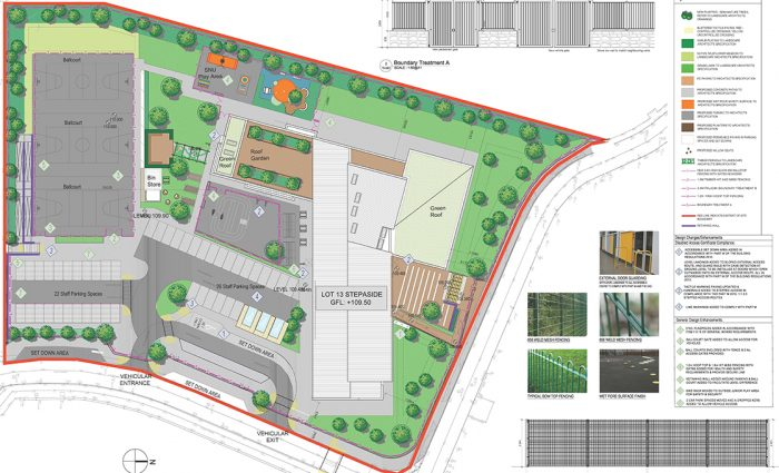 Stepaside ETNS Site Plan